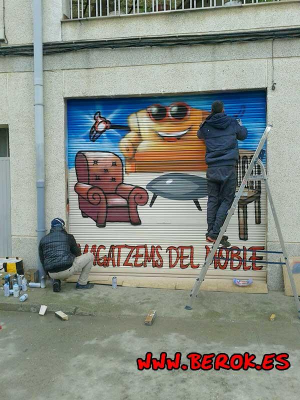 graffiti Verdú, Lleida