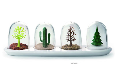 Four Seasons Shaker Set by Qualy Design