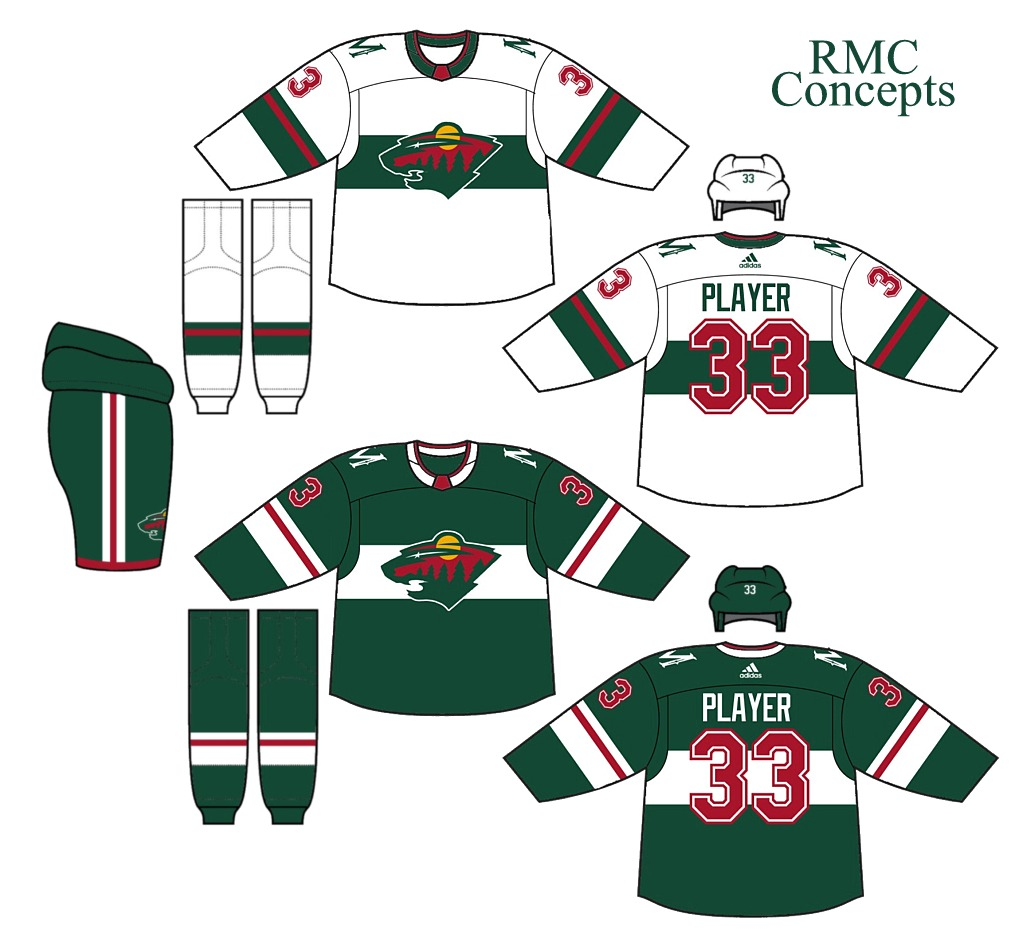 My rating  It s a very nice sweater that would look great in real life!  9 10 and my COTW NOMINEE!!!!! Ryan C.- Minnesota Wild (NHL) 9f13e7865