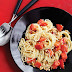 Pasta with Fresh Tomatoes and Pine Nuts #Recipe