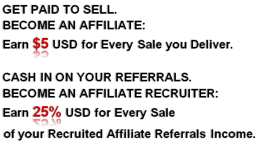 become an affiliate become a recruiter