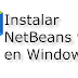 Instalar Netbeans 9 en Windows 10