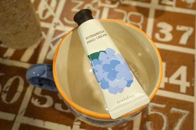 Innisfree Hydrangea Hand Cream Review