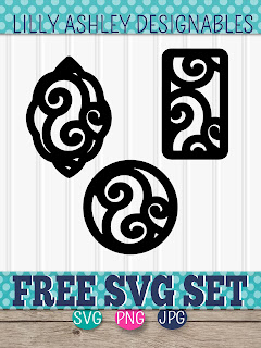 free earring svg