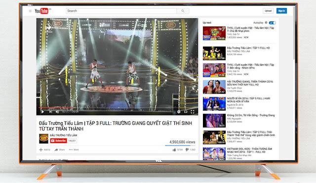 Những nguyên nhân và cách khắc phục tivi không vào được Youtube