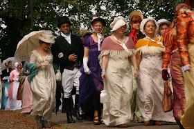 The Jane Austen Festival Promenade  Photo © Stephen Knowles