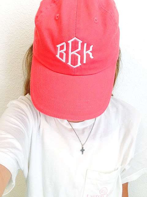 Marley Lilly Monogrammed Baseball Cap | Live The Prep Life
