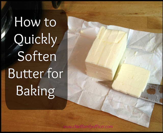How to Quickly Soften Cold Butter for Baking - chieffamilyofficer.com