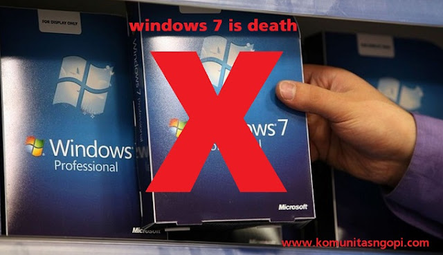 Penggunaan Windows 7 Segera Berakhir