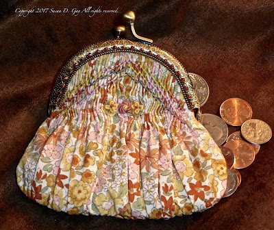 The Smocked Coin Purse