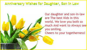 First wedding anniversary quotes for daughter