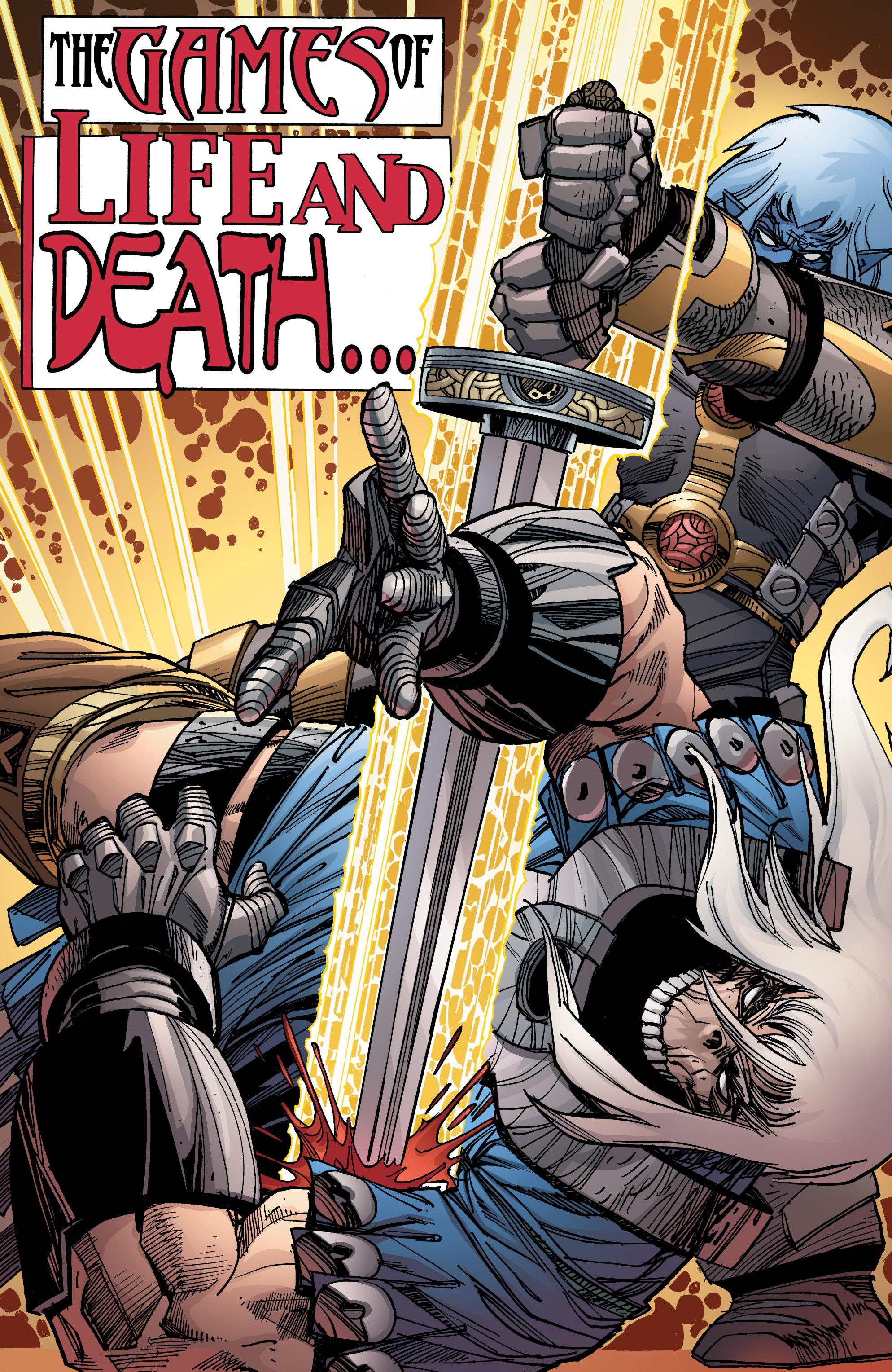 Read online Ragnarok comic -  Issue #9 - 3