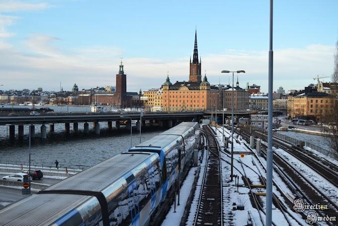 Sztuka w sztokholmskim metrze - linia T17