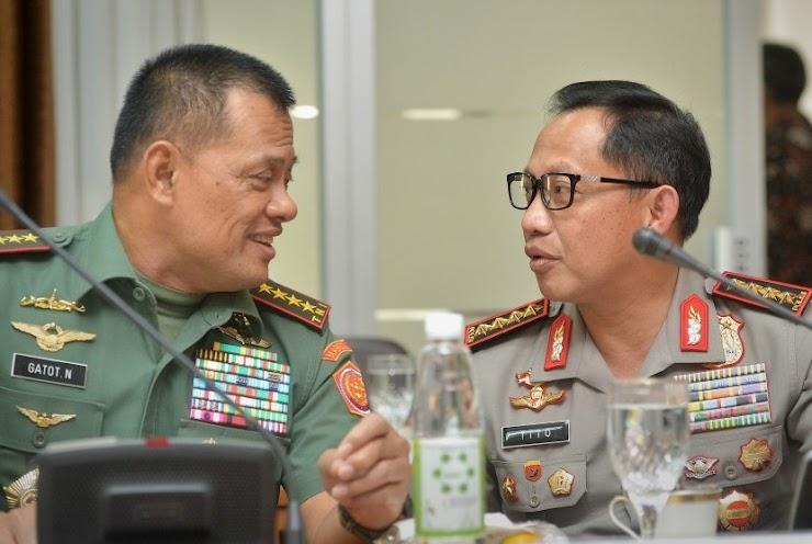 Usai Isu Senjata Ilegal, Hubungan Panglima TNI dan Kapolri Memanas?