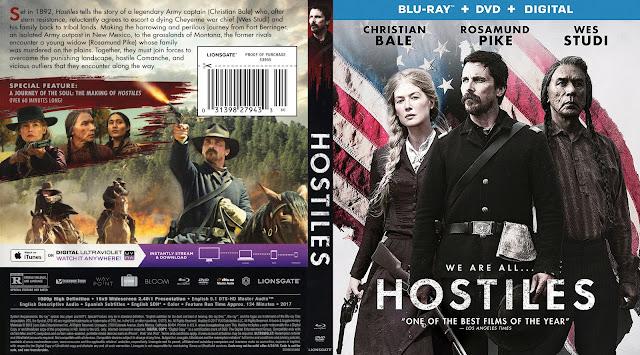 Hostiles Bluray (scan) Cover
