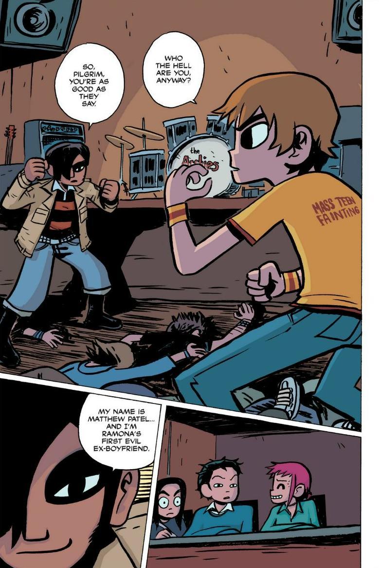 Read online Scott Pilgrim comic -  Issue #1 - 129