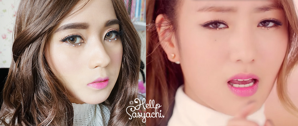 Sasyachi Beauty Diary Apink Bomi Luv Inspired Makeup Tutorial
