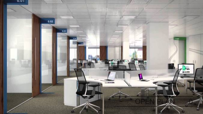 Modern office design concepts modern office design for New office design concept