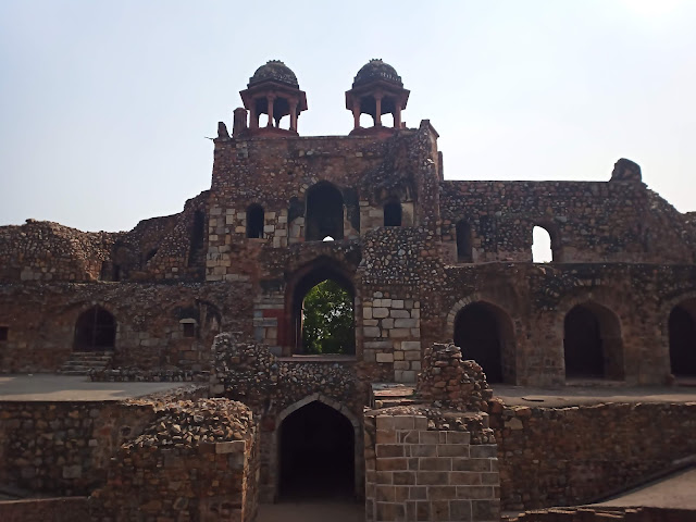 Stone castle at Purana Qila
