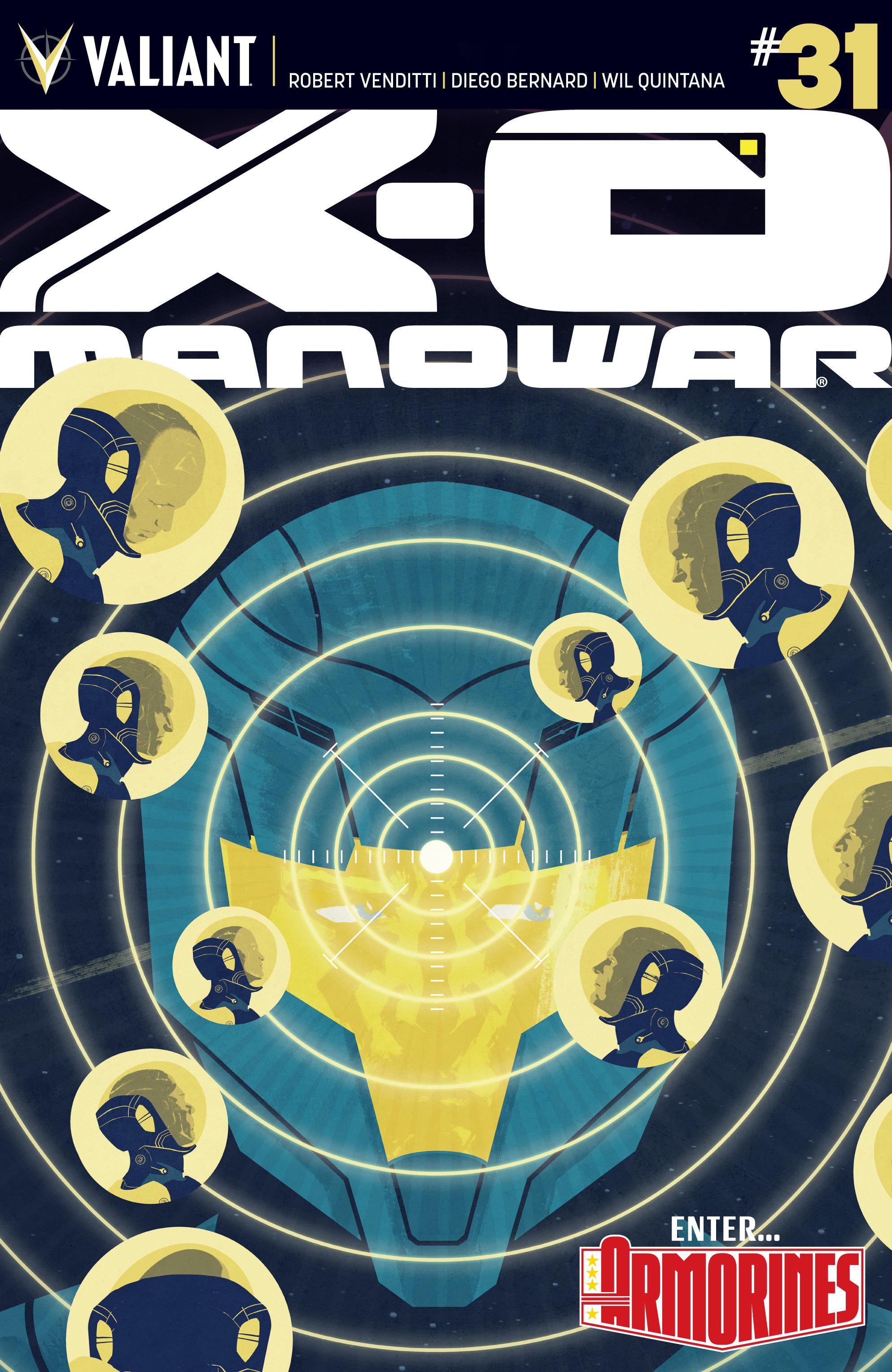 X-O Manowar (2012) 31 Page 1