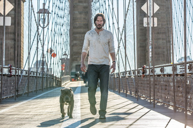 John Wick Chapter 2 - Dog and John