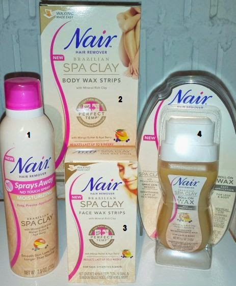 Nair™ Brazilian Spa Clay