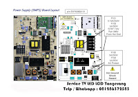 harga power supply tv led lcd samsung toshiba polytron panasonic sony tangerang