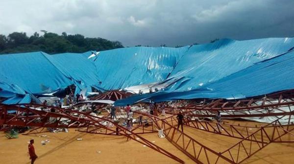 Tragedia en iglesia de Nigeria
