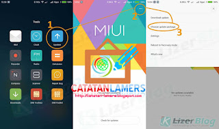 Root Redmi Note 4G Dual Sim (Gucci) MIUI Global 8 Stable Tanpa PC