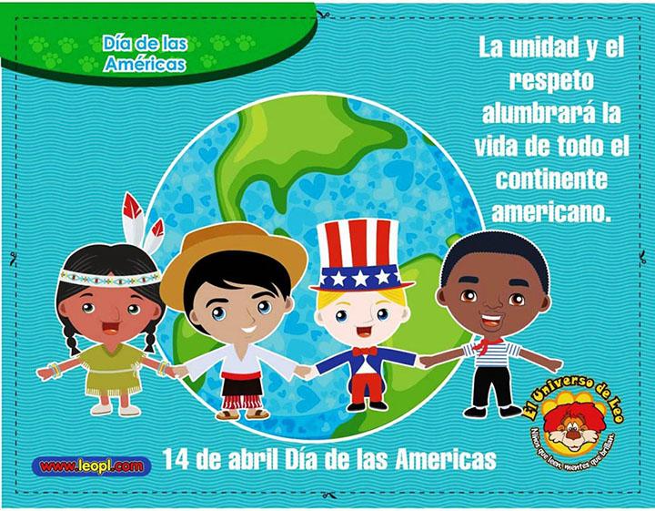 Día de las Américas dibujo