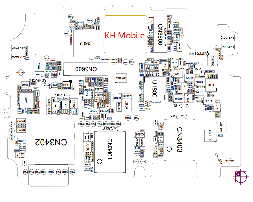 Oppo R3001 Schematic & Layout Diagrams  JMH
