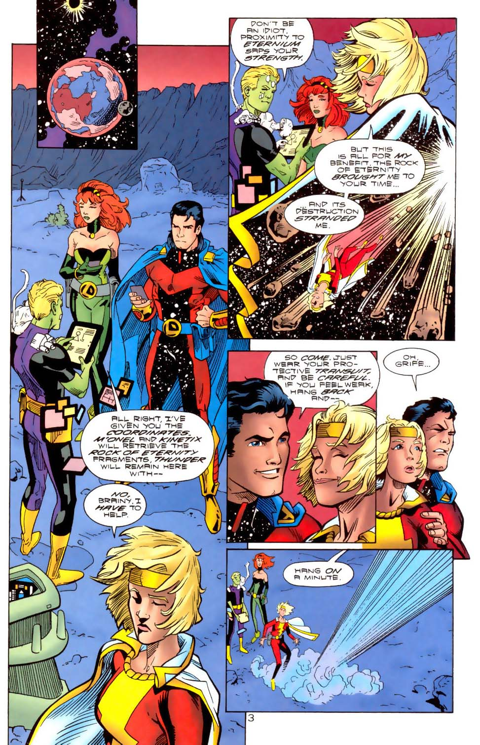 Legion of Super-Heroes (1989) 111 Page 3