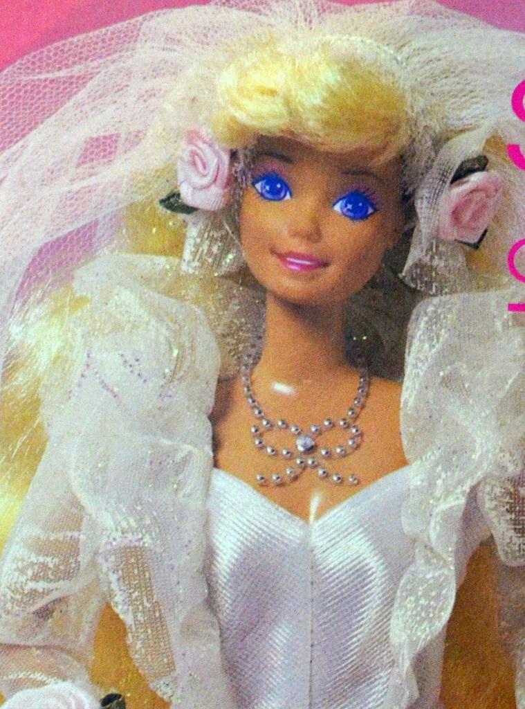 Barbie Noiva ~ Ana Caldatto Boneca Barbie Noiva Estrela de 1983 a 1995