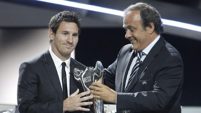 La UEFA entrega sus premios a adidas