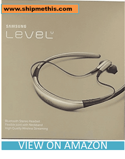 Samsung Level U Bluetooth Stereo Headset Flexible Joint With Neckband (Gold) Review