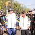 Menteri Airlangga Pembawa Obor Pertama Asian Games 2018 di Bandung