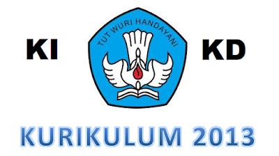 Download KI dan KD Semua Mapel Kurikulum 2013
