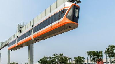 चीन में मेट्रो से 3 गुना तेज स्काई ट्रेन का हो रहा है परीक्षण China Sky Train 3x Faster Metro News in Hindi