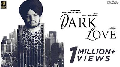 Dark Love – Sidhu Moosewala Download Full HD Punjabi Video