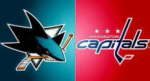 NHL Sharks vs Capitals