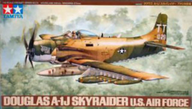 Douglas A-1J Skyraider Tamiya 1/48