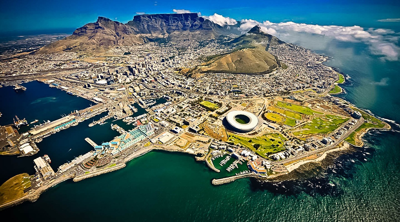 Cape Town, South Africa HD Background