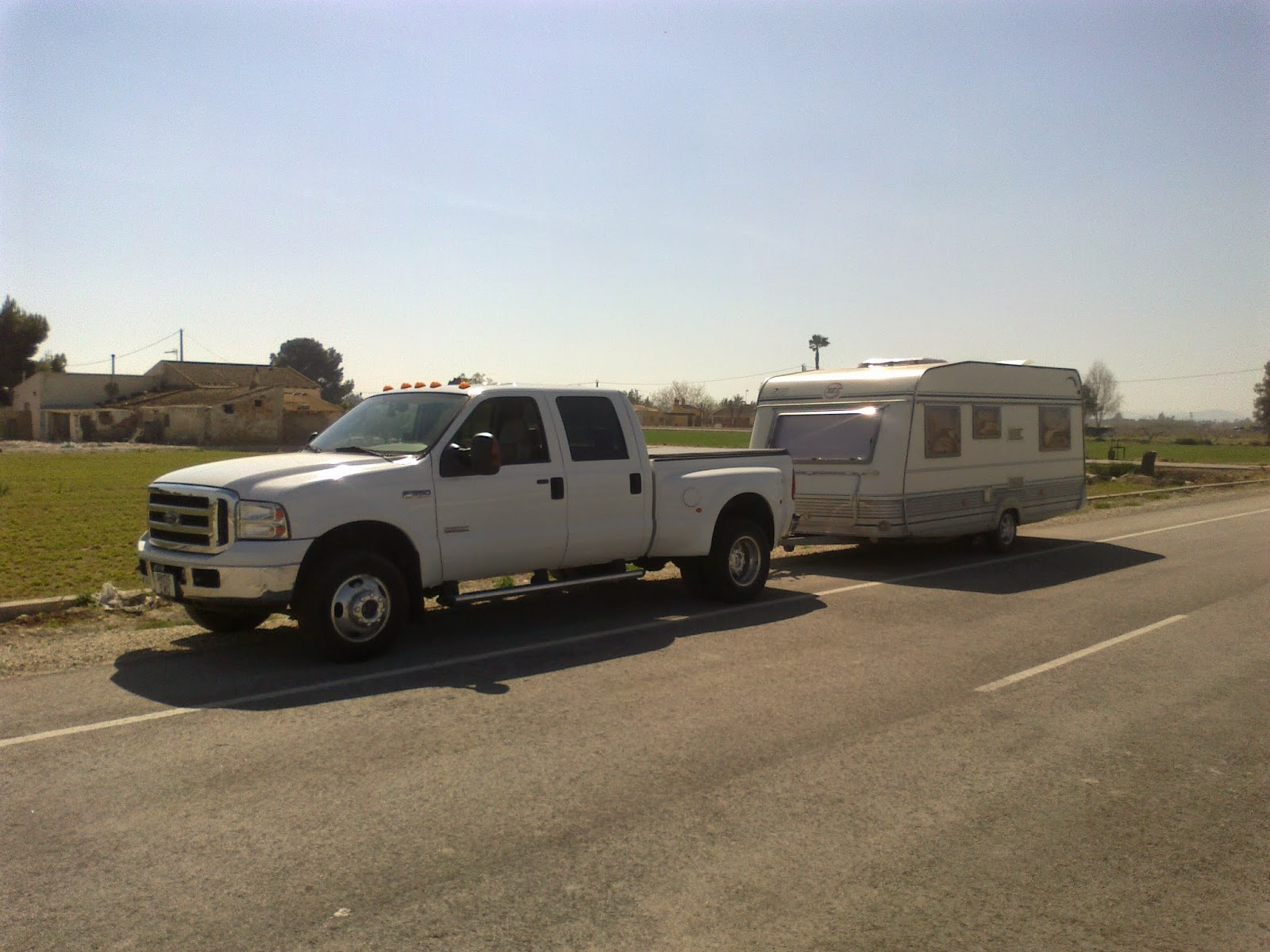 UK, France, Spain, Portugal caravan towing service