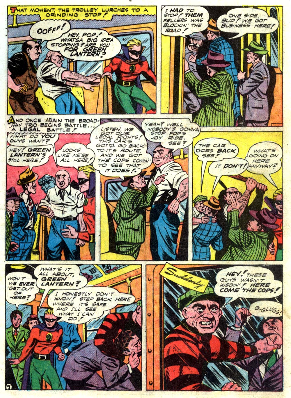 Read online All-American Comics (1939) comic -  Issue #55 - 9