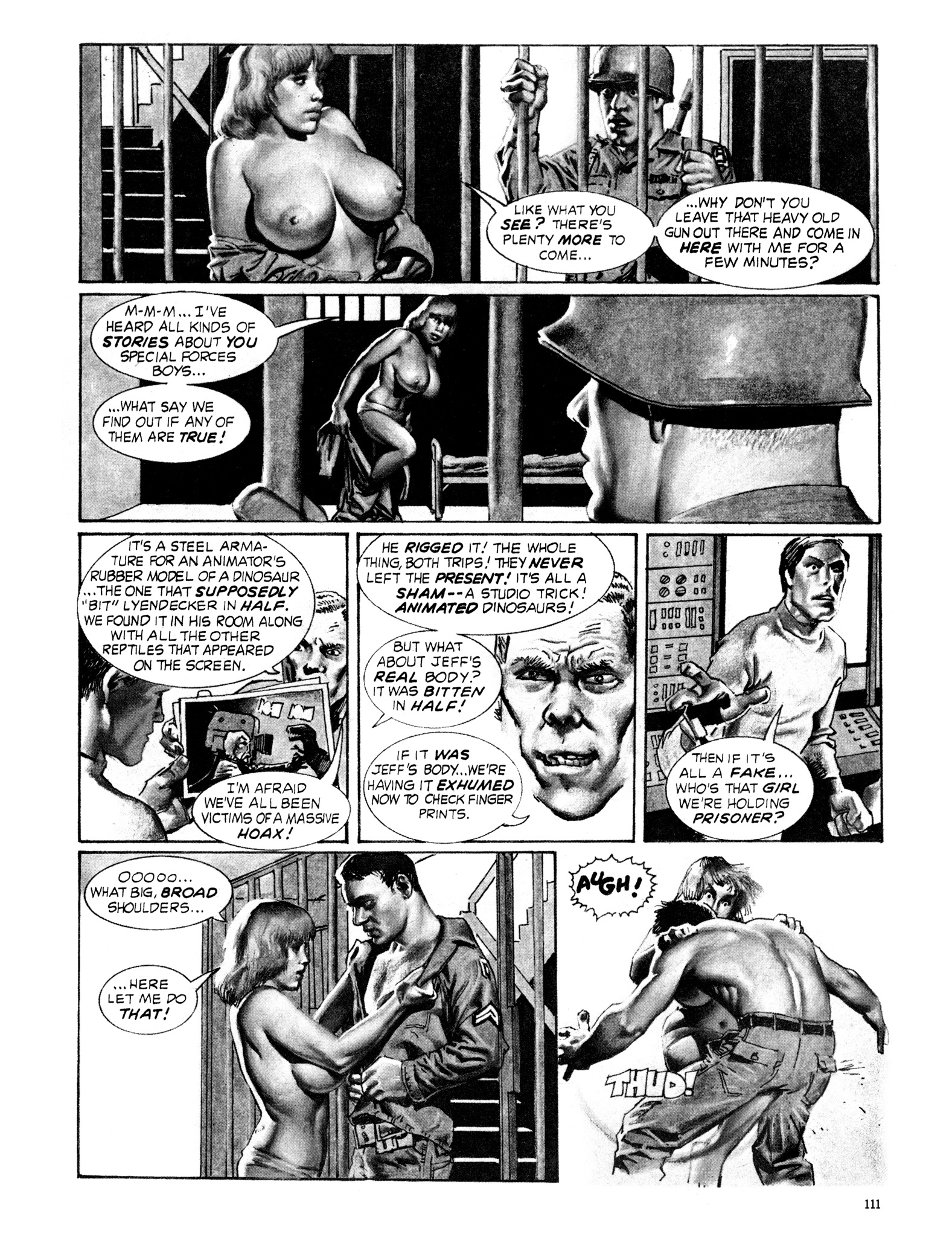 Read online Eerie Archives comic -  Issue # TPB 18 - 112
