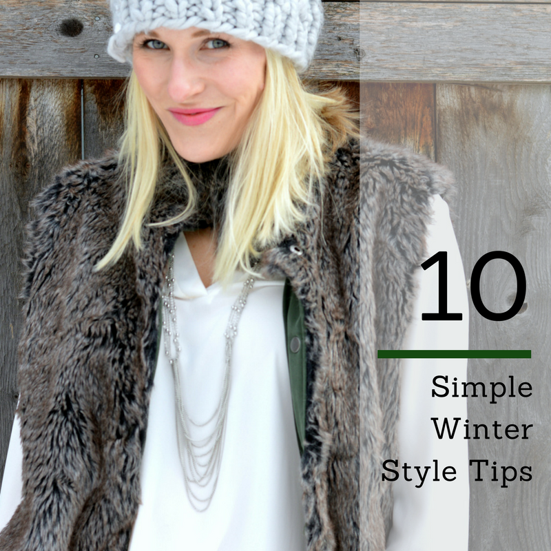 10 Simple Winter Style Tips