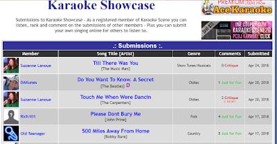 Singer's Showcase