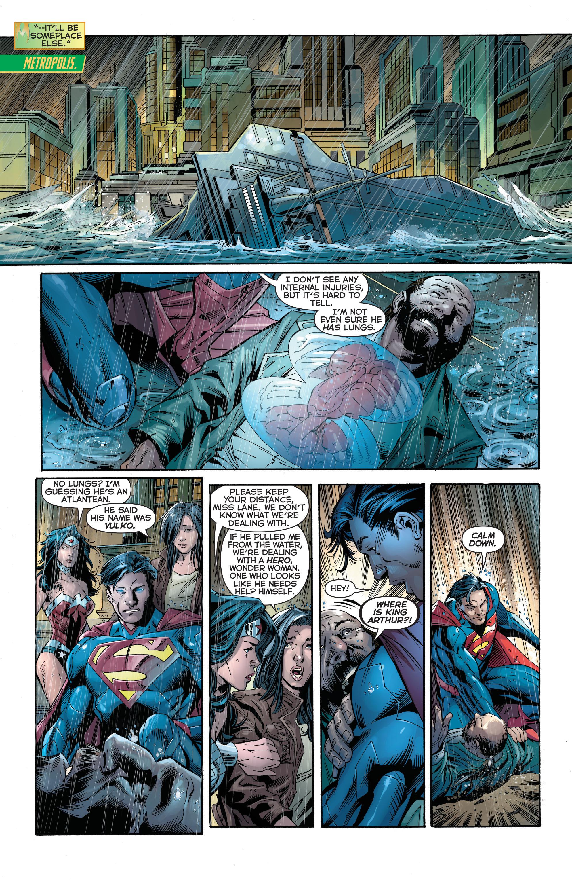 Read online Aquaman (2011) comic -  Issue #15 - 8