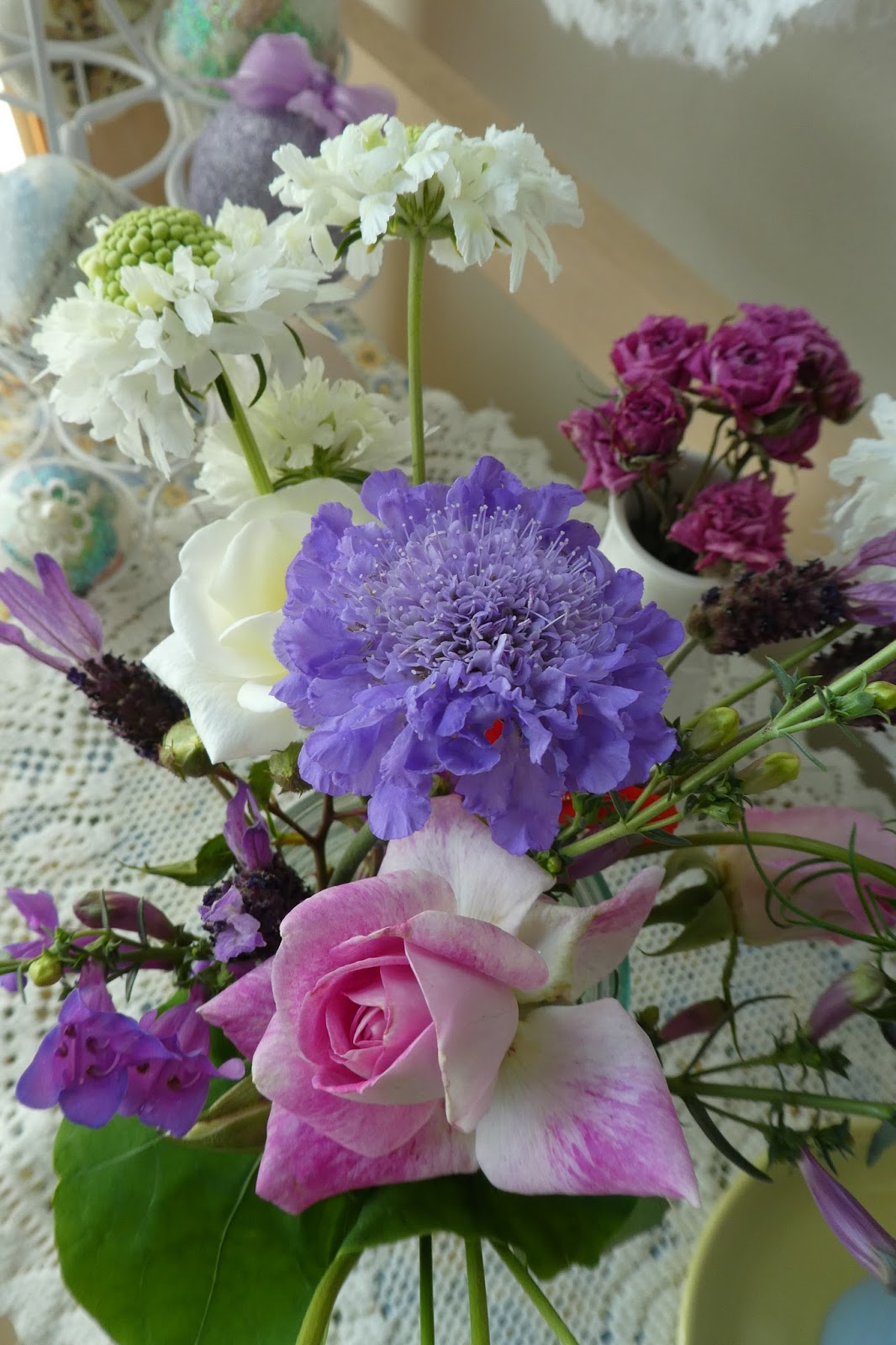 Why I Love To Garden First Official Bouquet Of 2018