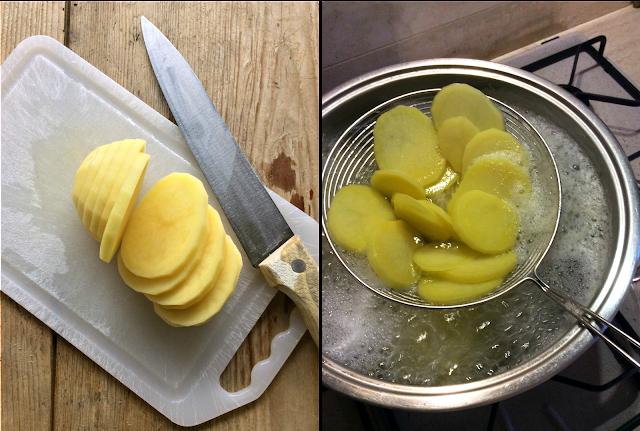 tortino di patate e porcini